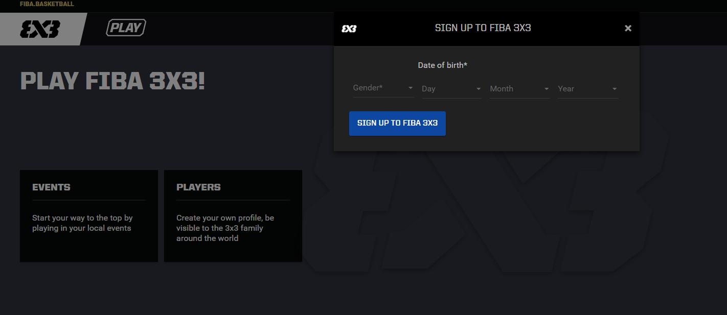 Accedir a FIBA3x3